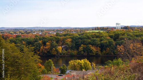 Fotografie, Obraz  Ludlow Massachusetts Scenic Overlook