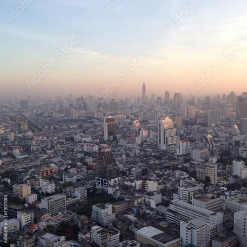 Papiers peints Paris top view from bangkok thailand