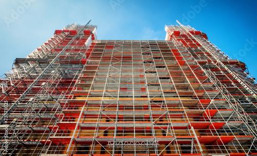 Fotografia scaffolding