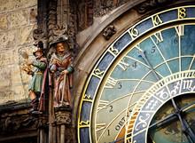 Detail Of The Prague Astronomi...