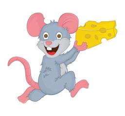 Obraz na płótnie Canvas mouse cartoon