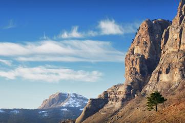 Beautiful mountain landscape. Crimea