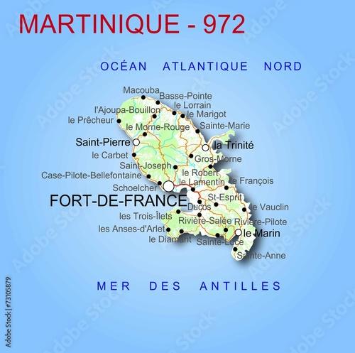 Carte De La Martinique Buy This Stock Vector And Explore Similar Vectors At Adobe Stock Adobe Stock