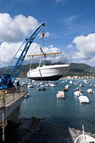 Photo Stands Caribbean Grue portuaire