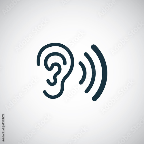Photo  ear icon