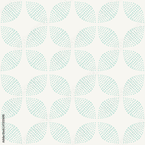 фотография  Seamless Pattern. Hand Drawn. Flower