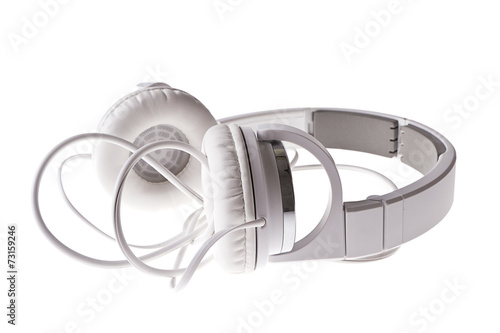 Fotografia  White Headphones