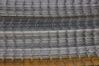 Welded iron mesh panels for reinforced concrete background