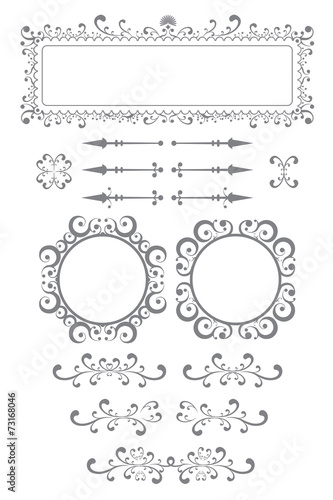 book plates and frames
