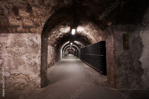 Papiers peints Tunnel beverage storage cellar