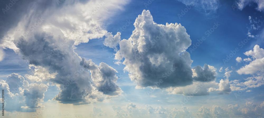 Fototapeta Dramatic Sky background