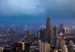 Kuala Lumpur city aerial view