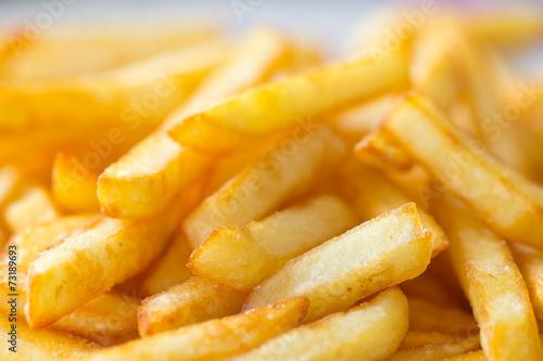 Fototapeta assiette de frites obraz