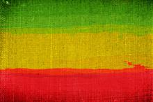 Grunge Rasta Flag