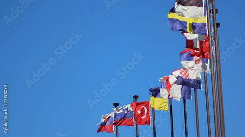 Fotografía  International flags