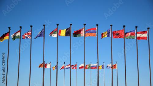 Fotomural International flags
