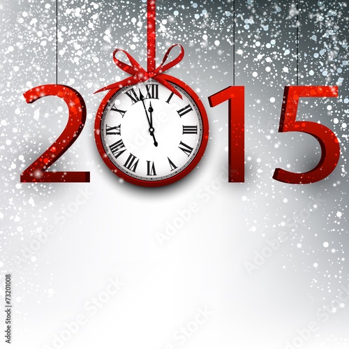 Poster  2015 new year background.