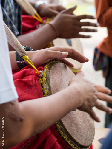 Fototapety, obrazy: Hand of drummers