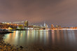 Brooklyn Bridge Park at night