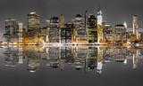 Fototapeta Nowy York - New York City night view