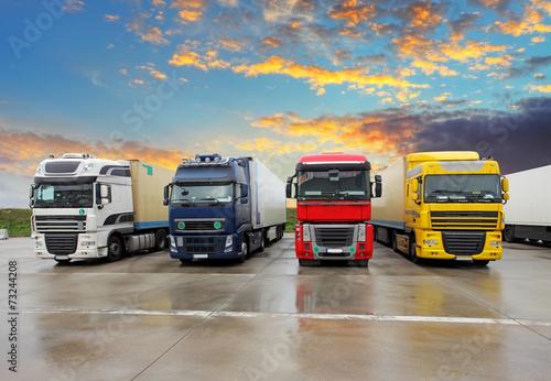 Fényképezés Truck - Freight transportation