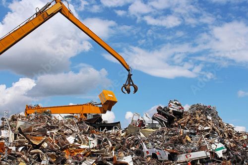 Fotografía usine de recyclage
