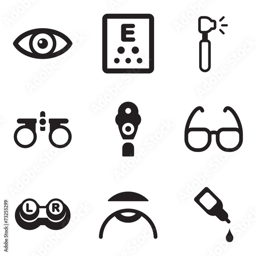 Fotografía  Optometry Icons