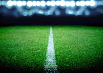 nogometno igralište i sjajna svjetla