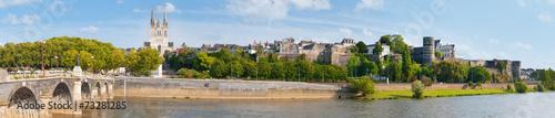 Fotografie, Tablou  Panorama of Angers