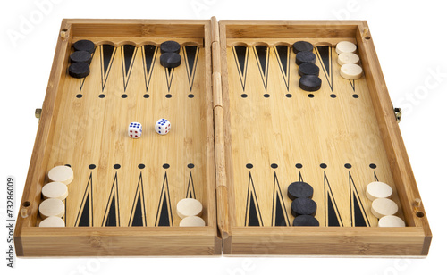 Obraz na plátně backgammon