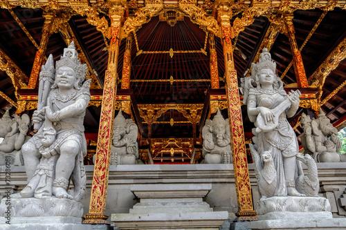 Tuinposter Imagination temple tirta empul