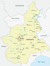 Piedmont Map