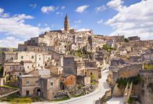 View Of Matera Old Town, Basilicata, Italy