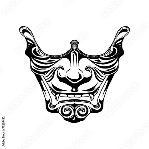 Foto  Samurai half mask