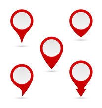 Pin Map Marker Pointer Icon
