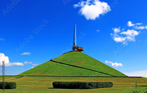Fotografie, Tablou  Memorial Mound of Glory in Belarus