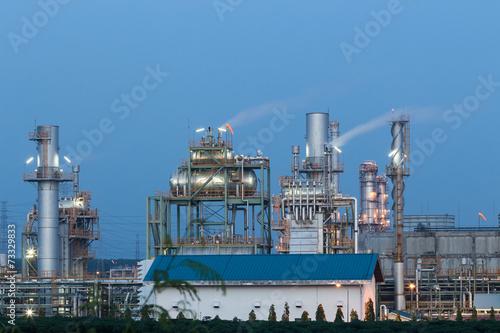 Staande foto Industrial geb. oil heavy industrial, plant