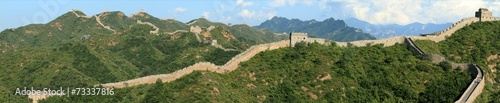 Tuinposter China Die Chinesische Mauer bei Jinshanling