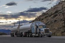 Massive Trucker On A Way