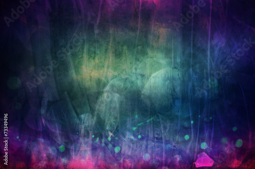 Stickers pour porte Les Textures dark abstract blue pink texture