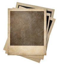 Polaroid Old Photo Frames Stac...