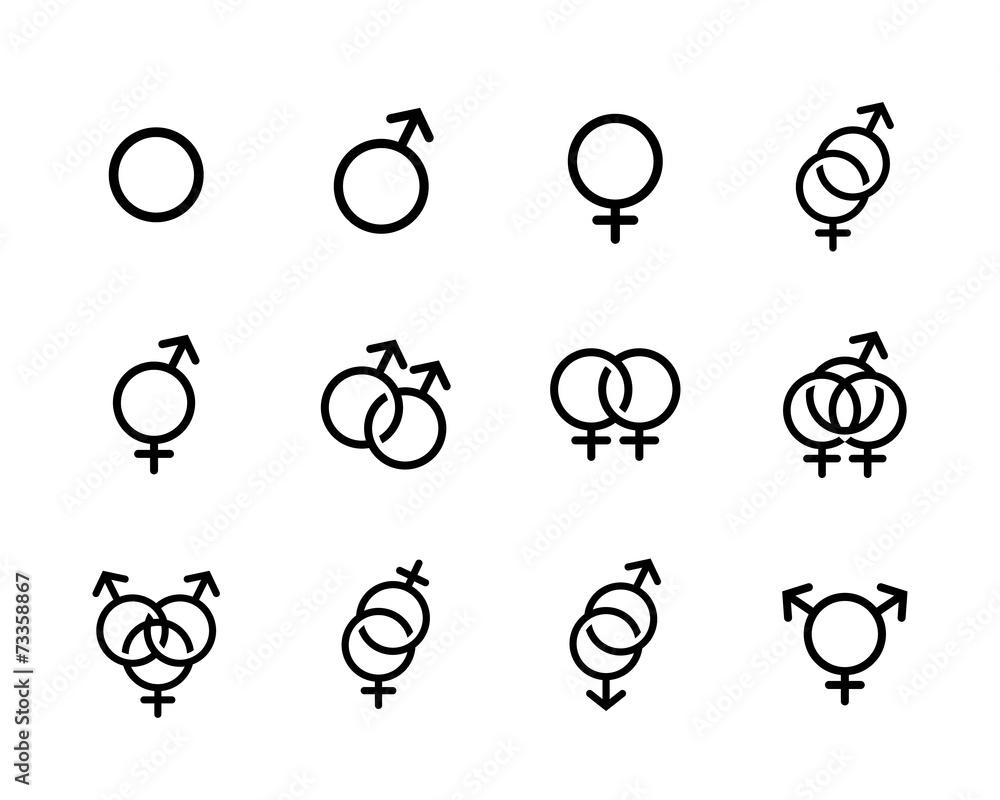 čierna a biela homosexuáli sex a významu života