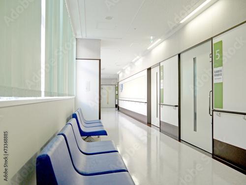 Fotografie, Tablou  病院 廊下