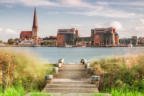 Fotografía Blick auf Rostock