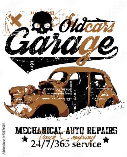 stary-garaz-samochodowy