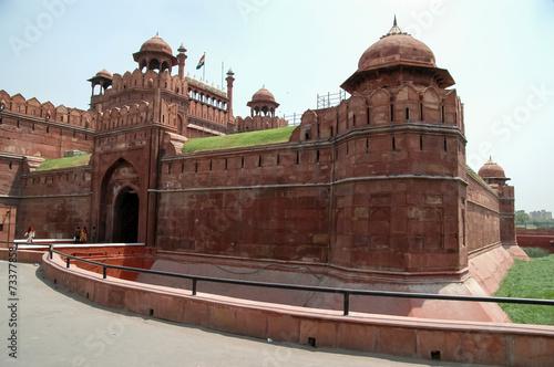 Stickers pour porte Delhi Red Fort in New Delhi, India
