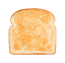 Bread Slice Lightly Toasted