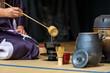 canvas print picture - tea-ceremony
