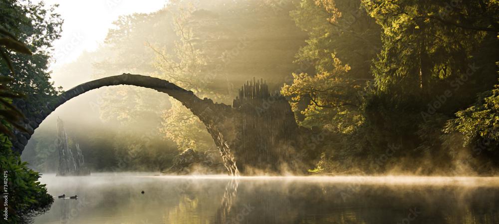 Fototapeta mystische Morgenstimmung