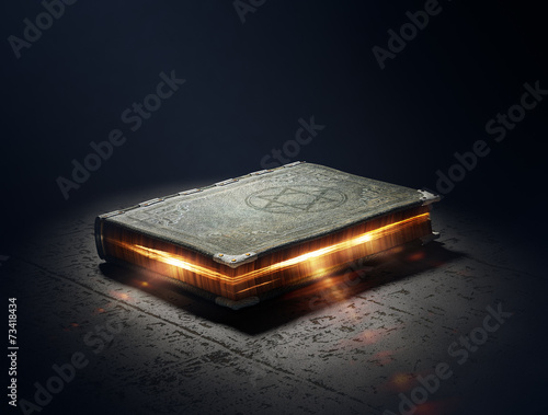 Book with magic powers Fototapet